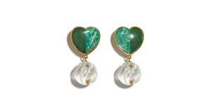 Lizzie Fortunato Tide Pool Earrings Jewelry