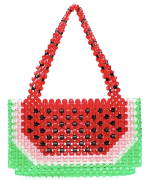 Susan Alexandra Watermelon Beaded Bag Bags