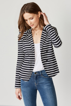 Bailey 44 Ja de Viv Stripe Jacket Outerwear