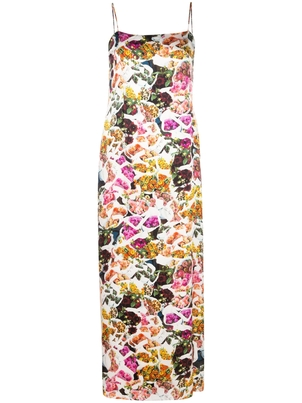 Adam Lippes Floral Silk Dress Dresses