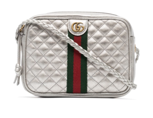 Gucci Metallic Quilted Mini Bag Bags