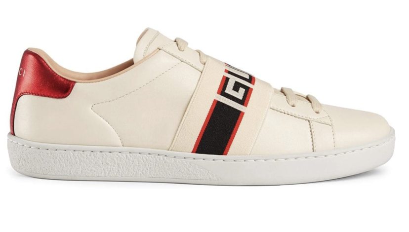 Gucci New Ace Logo Sneakers Shoes