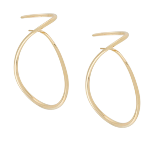 Charlotte Chesnais Gold Loop Earrings Jewelry