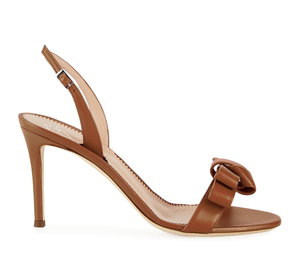 Giuseppe Zanotti Bow Leather Strappy Sandals Shoes