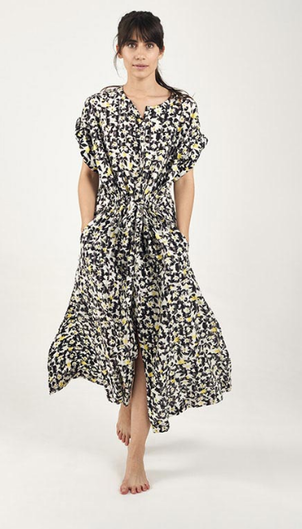 Mii Jasmine Print Dress Dresses