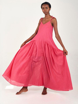 Mii Ines Dress Fuschia Dresses