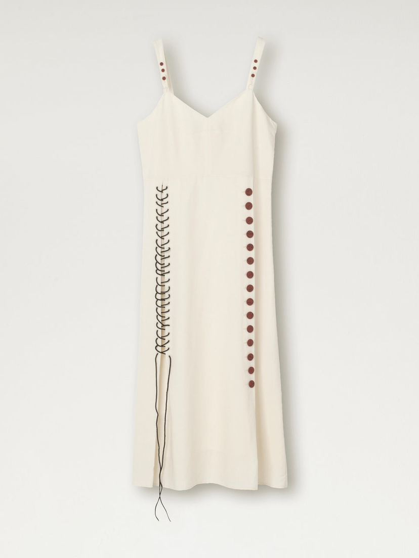 By Malene Birger Button Stitch Dress Dresses