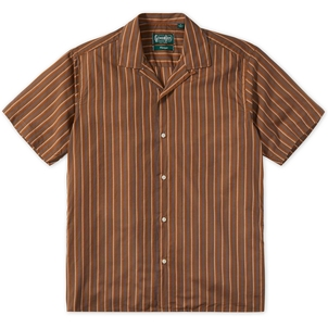 Gitman Vintage STRIPE CAMP COLLAR SHIRT Men's