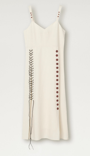 By Malene Birger Stich Button Dress Dresses