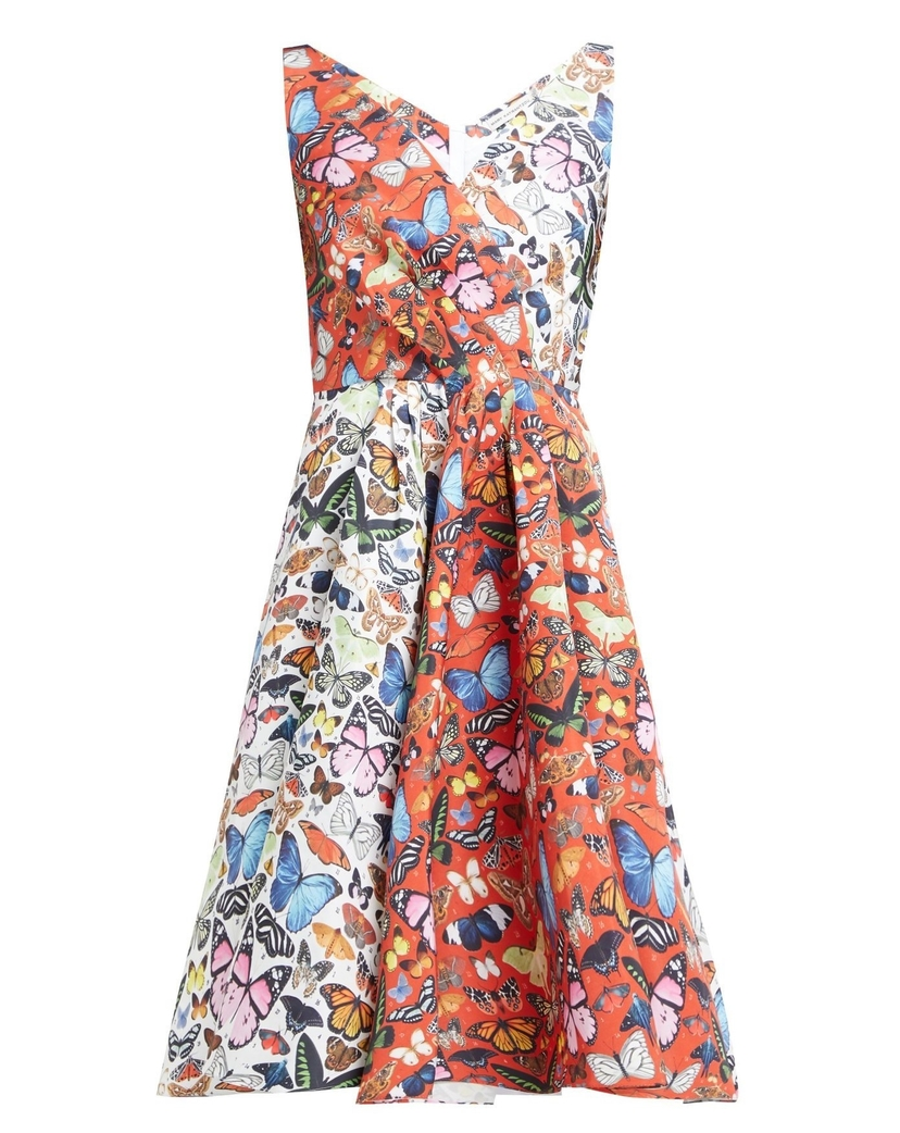Mary Katrantzou Butterfly Flip Dress Dresses
