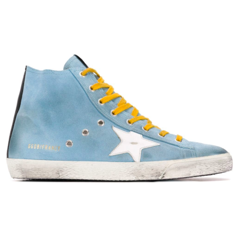 Golden Goose Deluxe Brand FRANCY HIGH TOP SUEDE SNEAKERS Men's