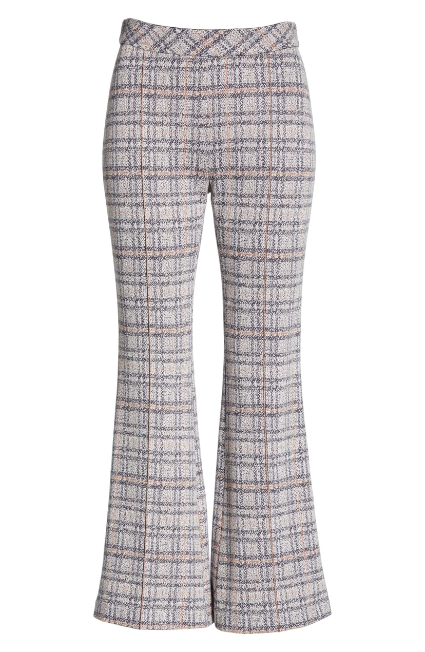 Rosetta Getty Pull-On Cropped Flare Pant Pants