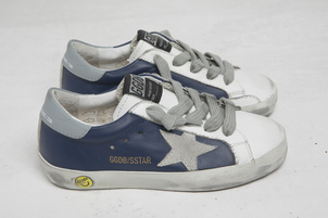 Golden Goose Deluxe Brand Sneakers Superstar - Deep Blue-Ice Star Kids