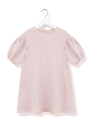 Kids On The Moon Puf Puf Dress - Pink Kids