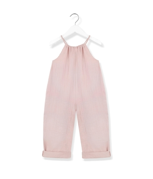 Kids On The Moon Playful Jumpsuit - Pink Kids