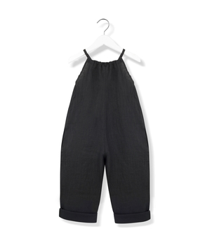 Kids On The Moon Playful Jumpsuit - Black Kids