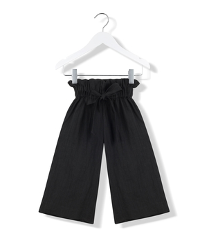 Kids On The Moon Sailor Pants - Black Kids