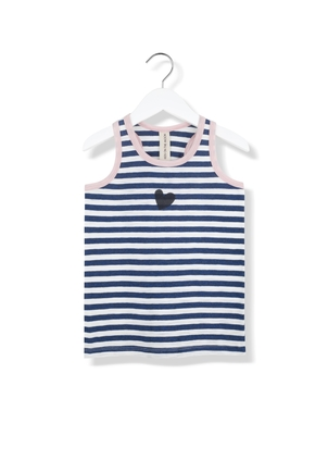 Kids On The Moon Sailor Heart Tank Top Kids
