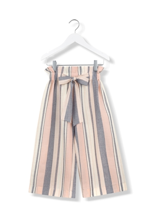 Kids On The Moon Sailor Striped Pants Kids
