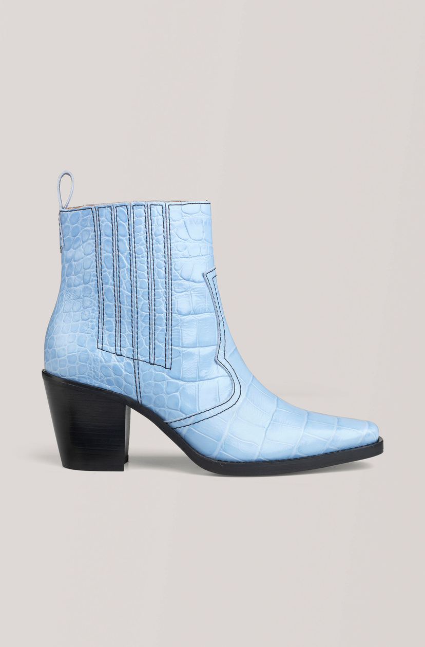 Ganni Callie Boot - Heather Shoes