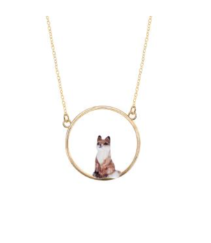 Nach Fox Mini Necklace Gold Jewelry