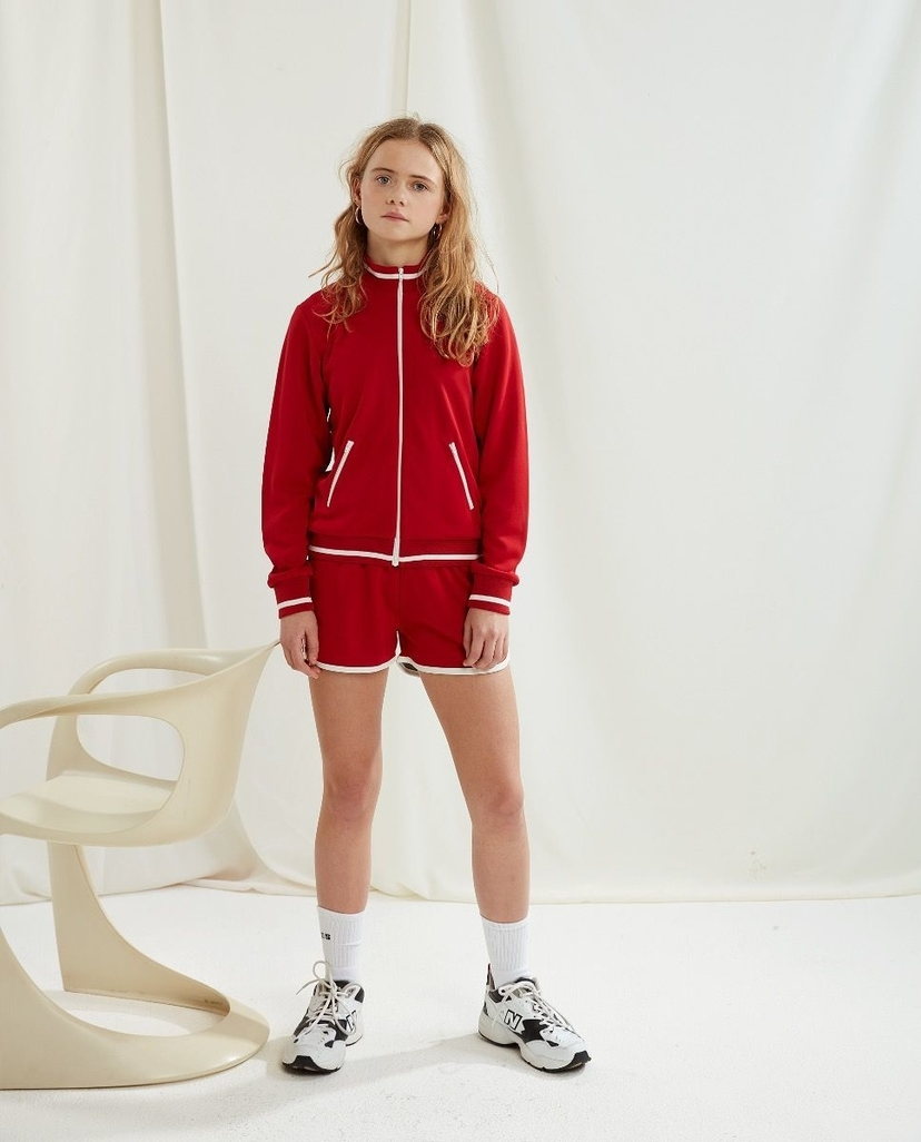 Les Coyotes De Paris Jenny Shorts Bright Red Kids