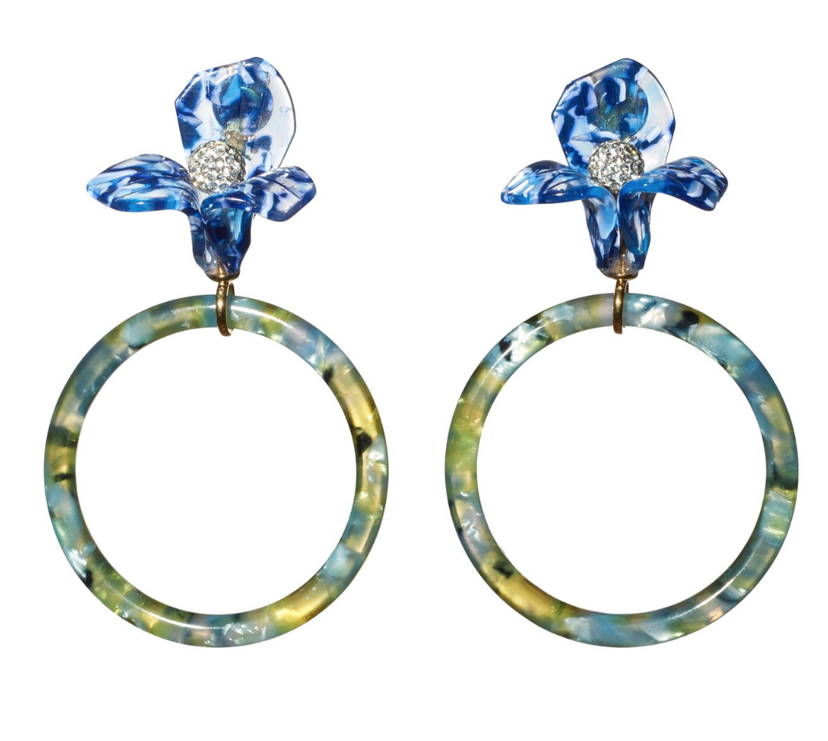 Lele Sadoughi Citron Earrings Jewelry