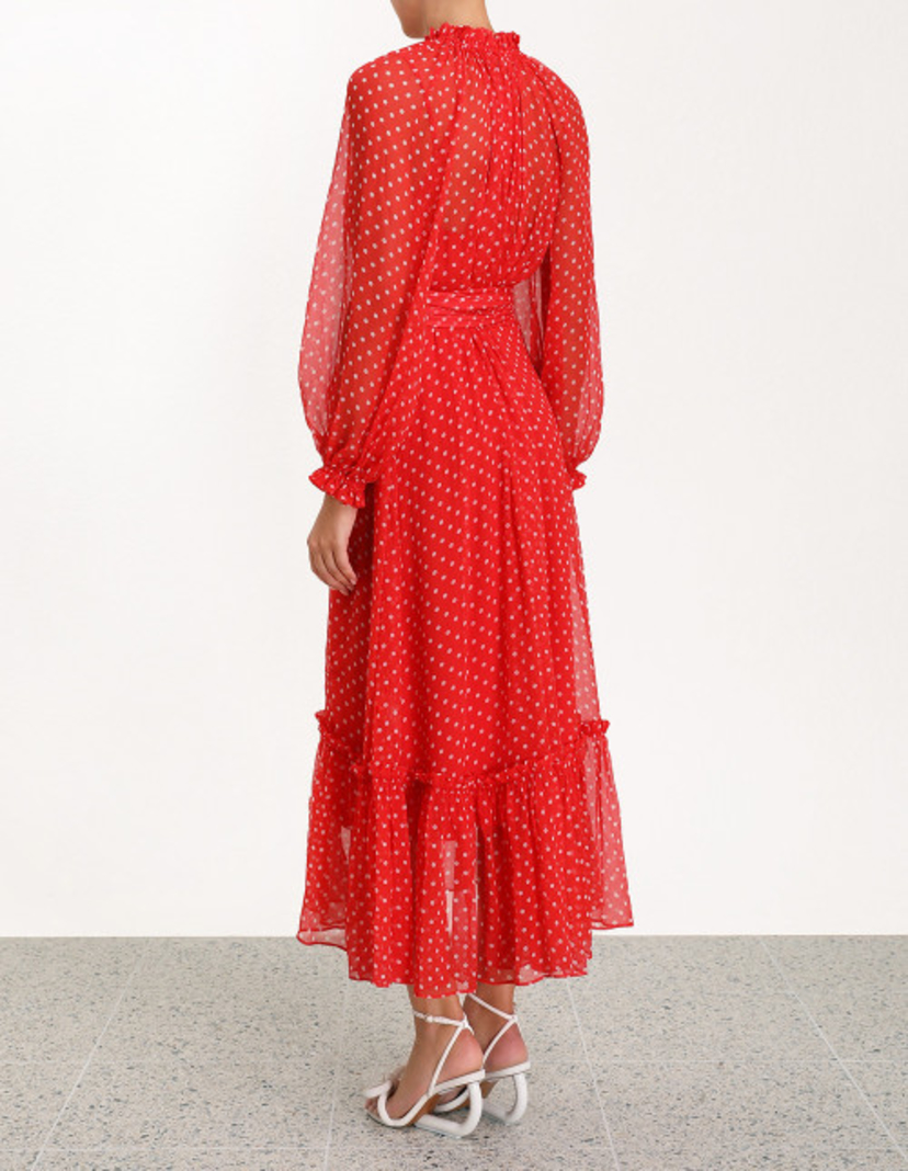 Zimmermann Ninety-Six Swing Dress Dresses Sale
