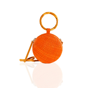 Serpui Serena Circle Bag Orange Bags