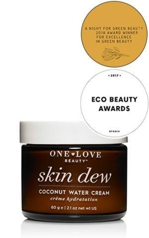 One Love Organics Skin Dew Coconut Water Cream Health & beauty