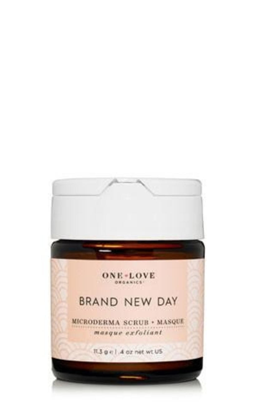 One Love Organics Brand New Day Microderma Scrub + Masque Health & beauty