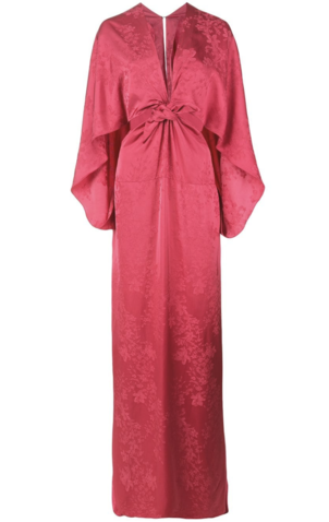 Rosie Assoulin Front Knotted Gown Dresses