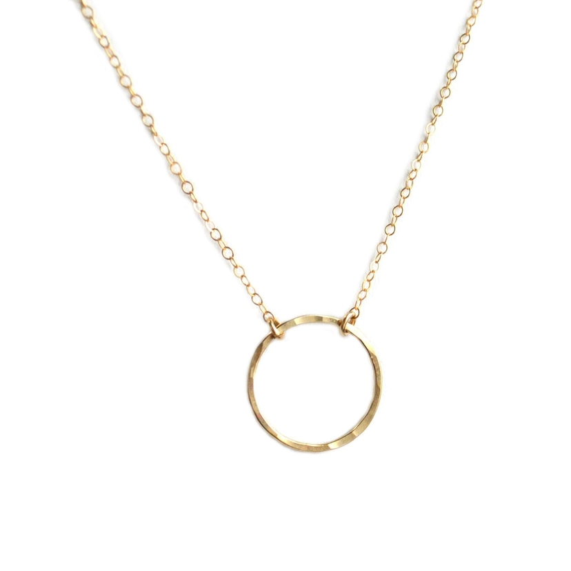 Bent by Courtney Circle Necklace Jewelry