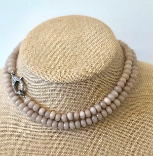 The Woods Fine Jewelry Savannah Jade Bead Necklace Jewelry