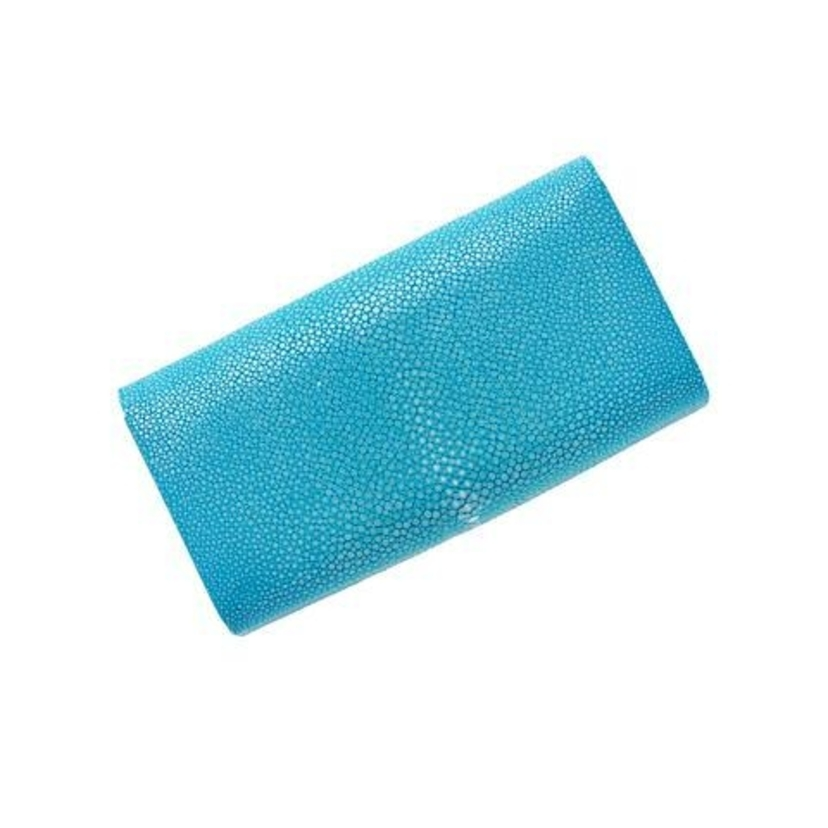 Convertible Stingray Clutch - Turquoise Bags
