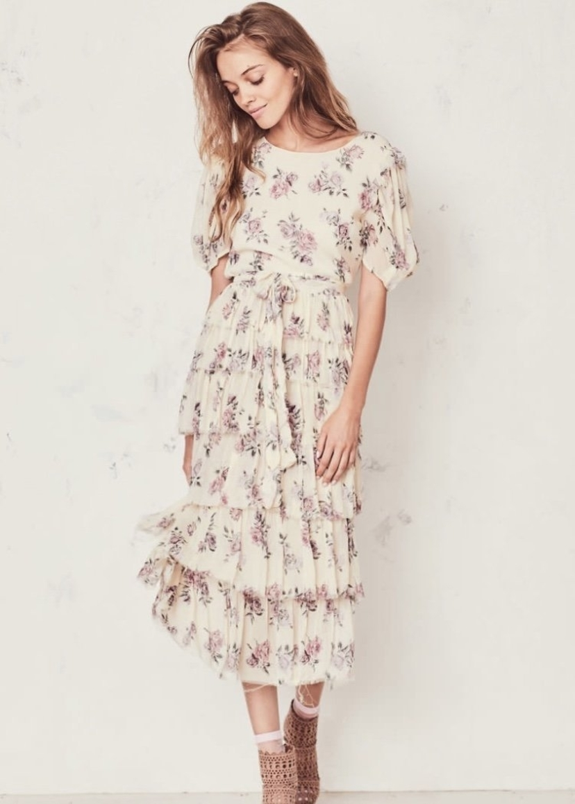 Loveshackfancy Love Shack Fancy Roxanna Dress in Dream Dresses