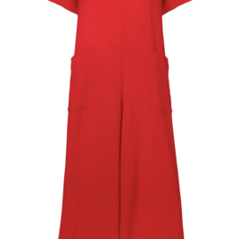 Blanche Jumpsuit in Red