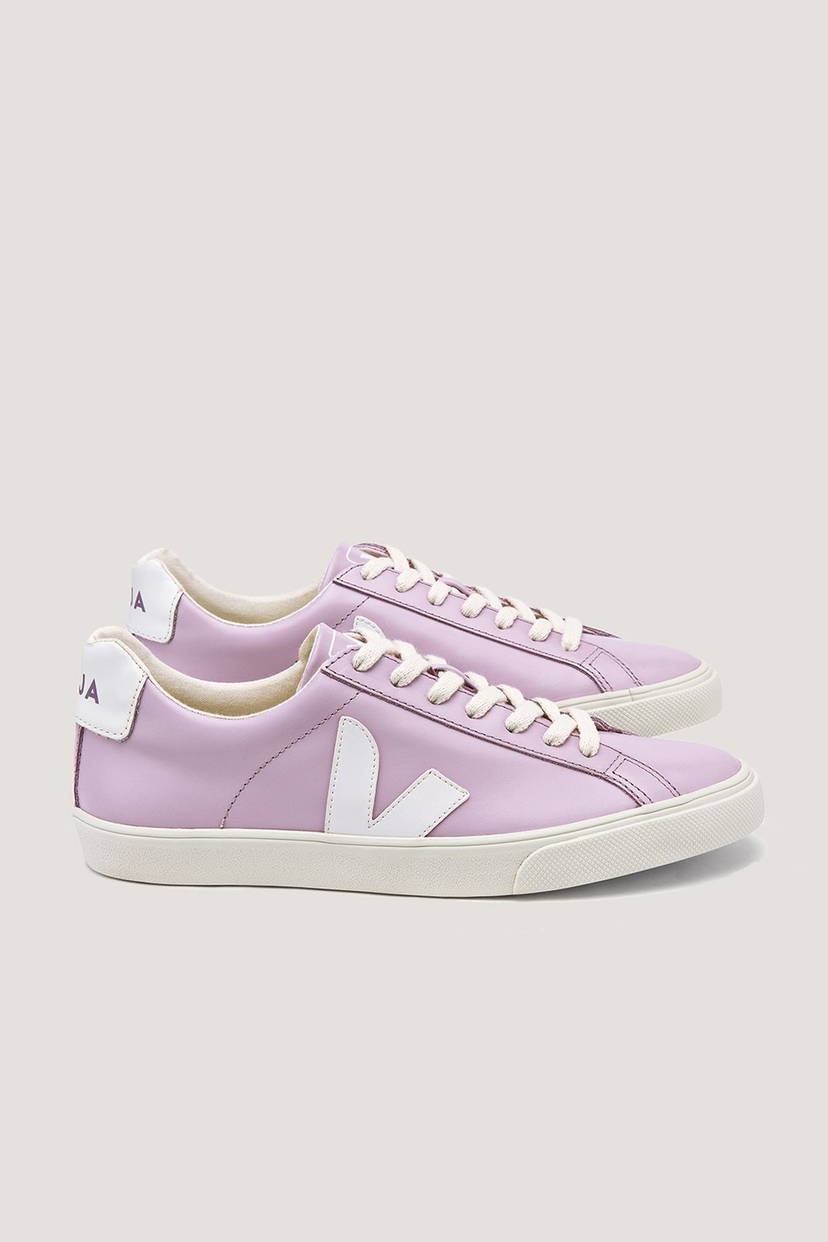 Veja Esplar Leather Lilas Sale Shoes