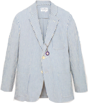 Rowing Blazers MILK-AND-SUGAR SEERSUCKER JACKET Men's