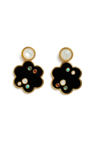 Lizzie Fortunato Poppy Earrings Jewelry