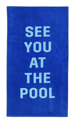 Ban.dō Beach, Please Towel See You at the Pool Swimwear