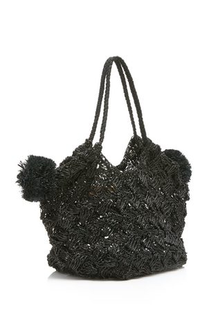 Ulla Johnson Lalo Mini Abaca Tote Bags