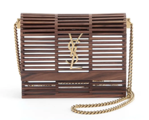 Saint Laurent Wooden Crossbody Bags Swimwear
