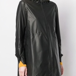 Hooded Zip-Up Coat