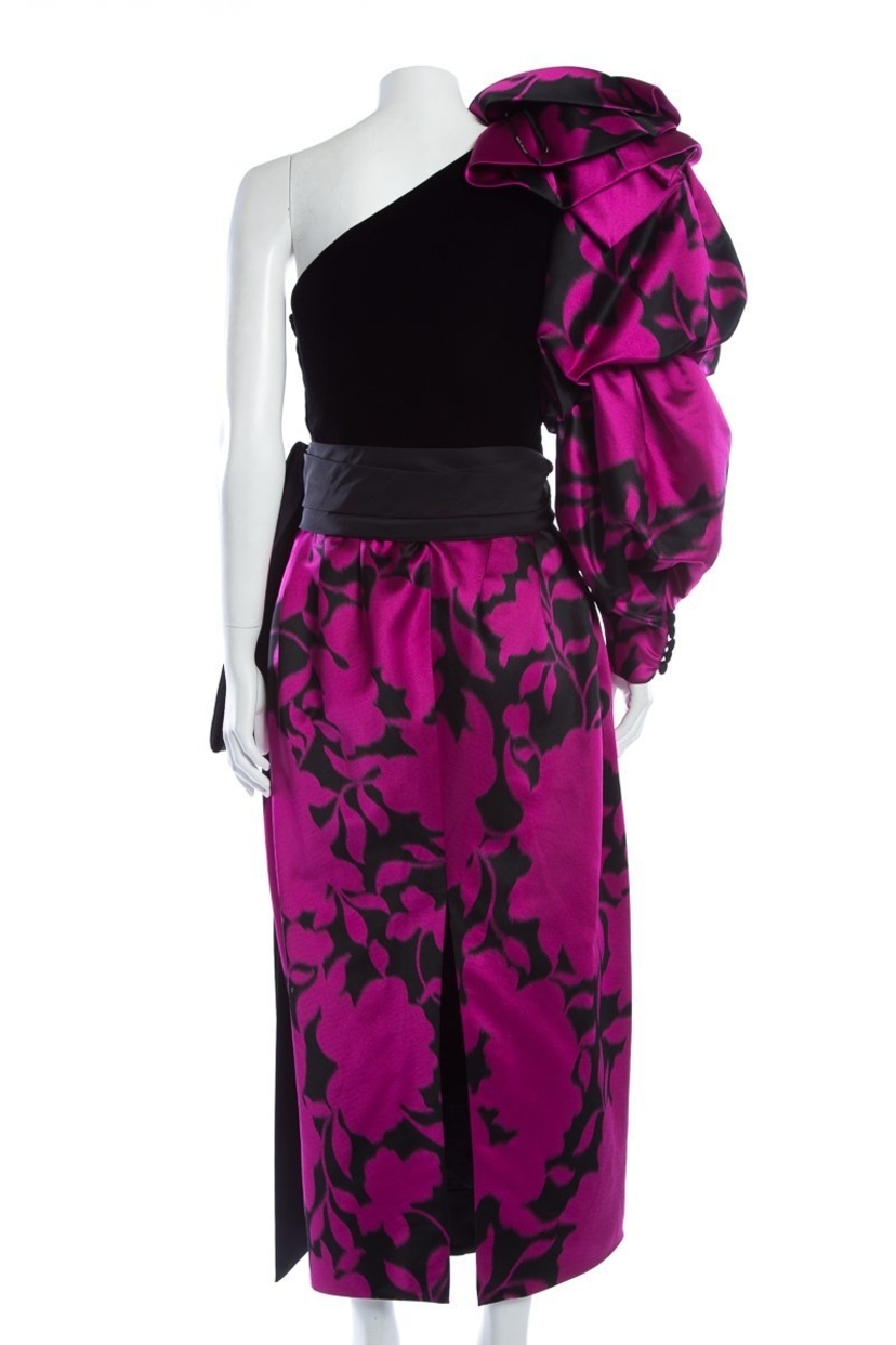Marc Jacobs Marc Jacobs Black and Pink Dress Dresses