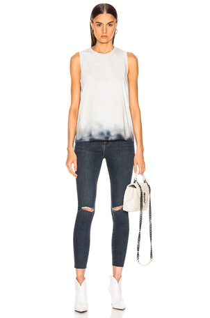 Raquel Allegra Racer Rack Muscle Tee Dresses Tops