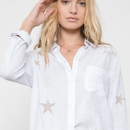 Charli Top With Star Embroidery