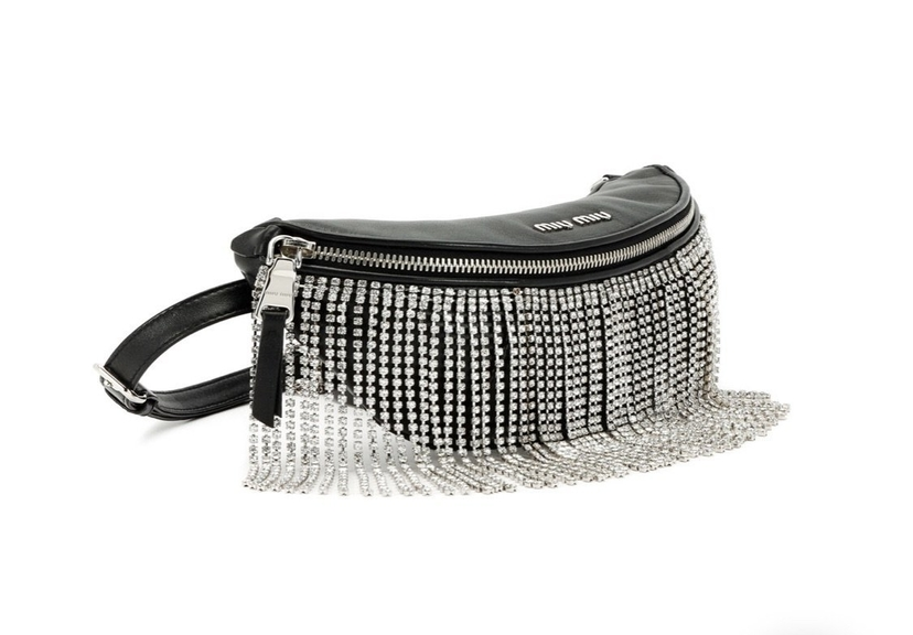 Miu Miu Miu Miu Crystal Belt Bag Bags