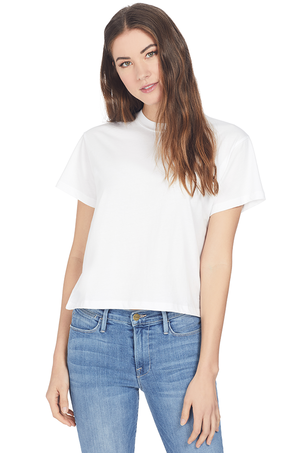 ATM Classic Jersey S/S Boy Tee (White) Tops