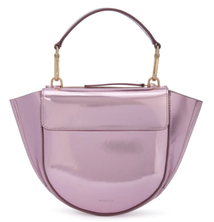 Wandler Hortensia Mini Bag in Metallic Pink Bags